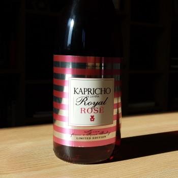 Kapricho rosé vino rosado de Meóriga