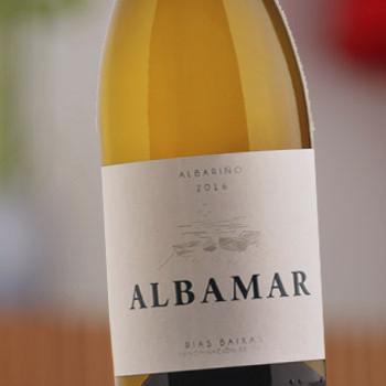 Vino Blanco Albariño Albamar