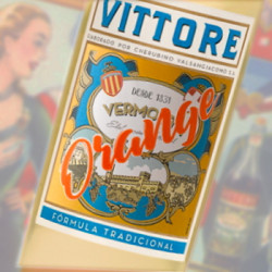 Vermouth Vittore Orange