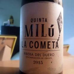 La Cometa Quinta Milú etiqueta