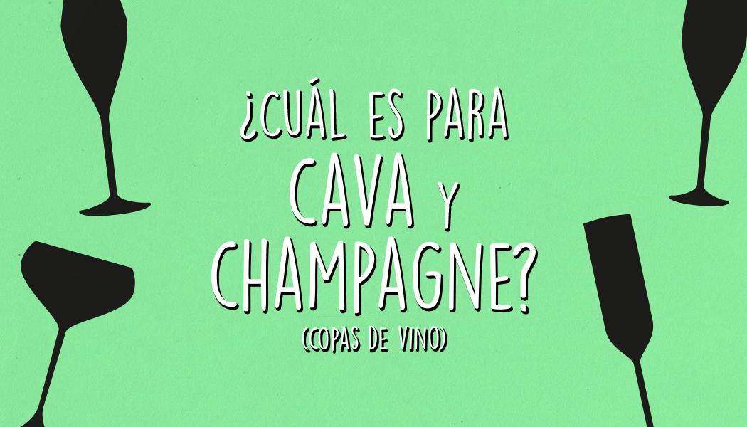 Copas de vino: ¿cual es para cava y champagne?