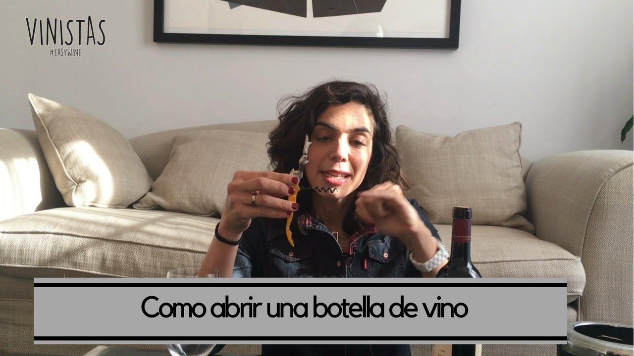 Como abrir una botella de vino – VINISTAS TV Episodio 52
