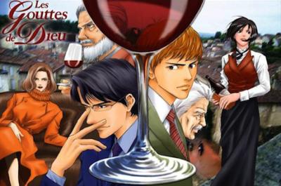 Manga: las gotas de dios