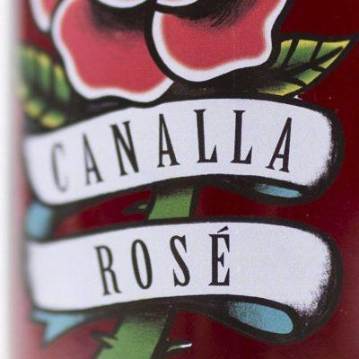 Canalla rosado de Vitis velado de León en vinistas