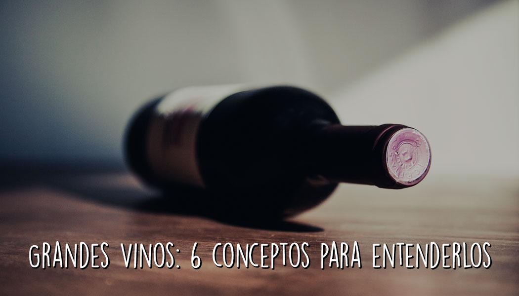 Grandes vinos. Seis conceptos para entenderlos