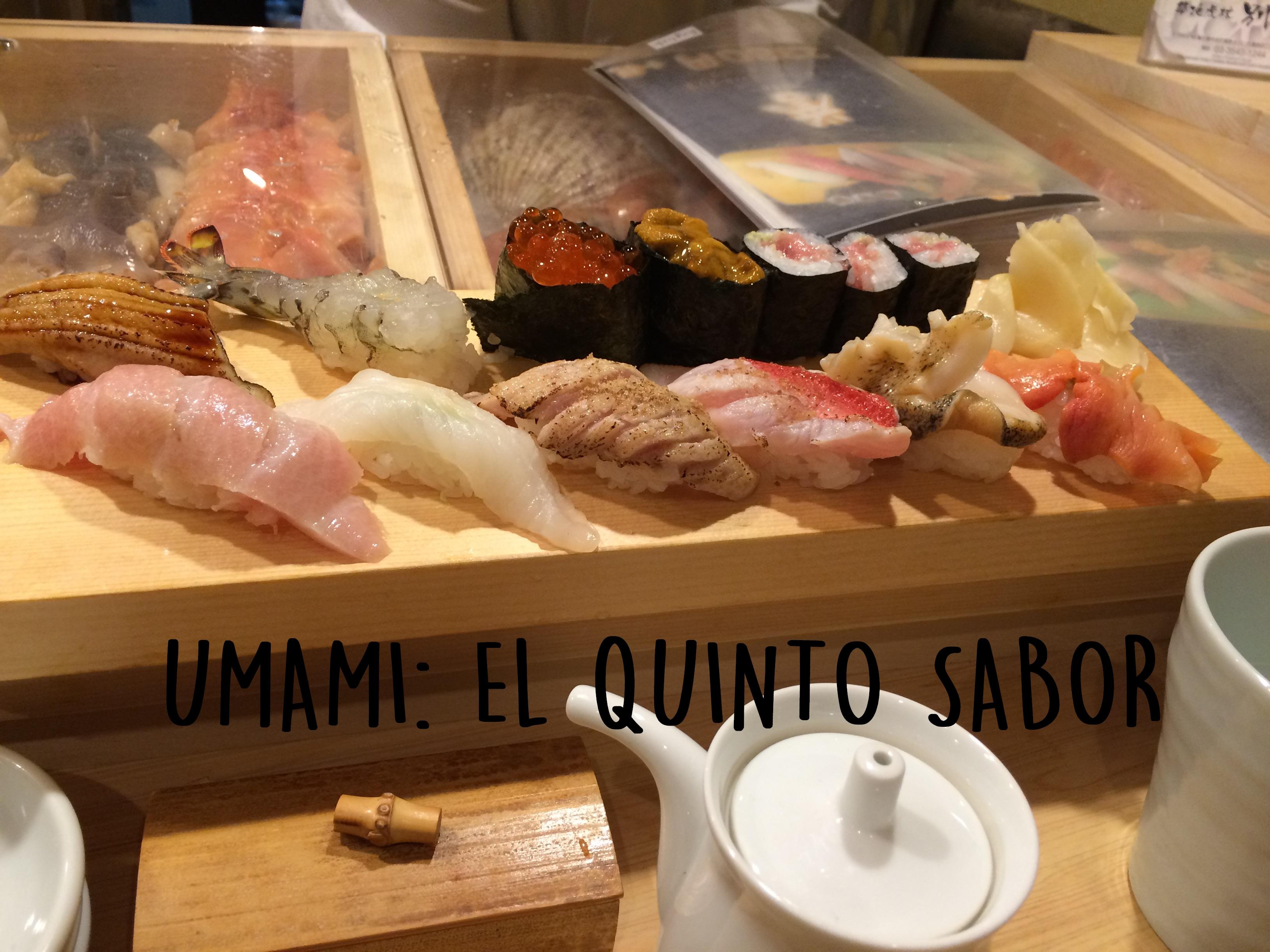 Umami: el quinto sabor