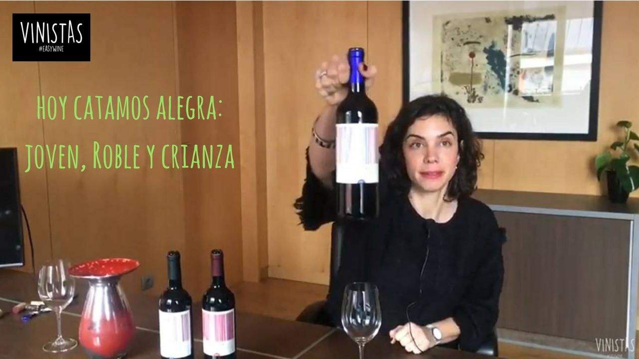 Hoy catamos: Alegra tintos -VINISTAS TV-Episodio 85