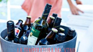 la temperatura del vino