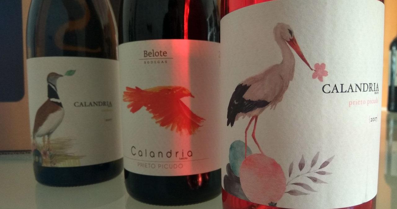 Pack de vinos Calandria de Bodegas Belote