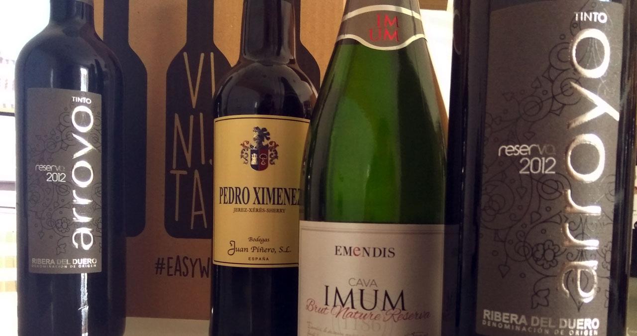 Pack de vinos para regalar