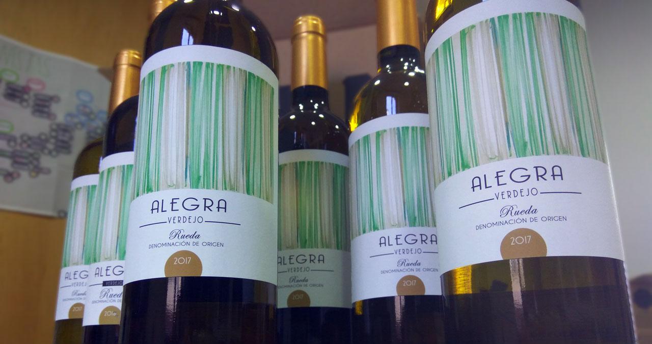 Pack de vino blanco de Rueda Alegra Verdejo