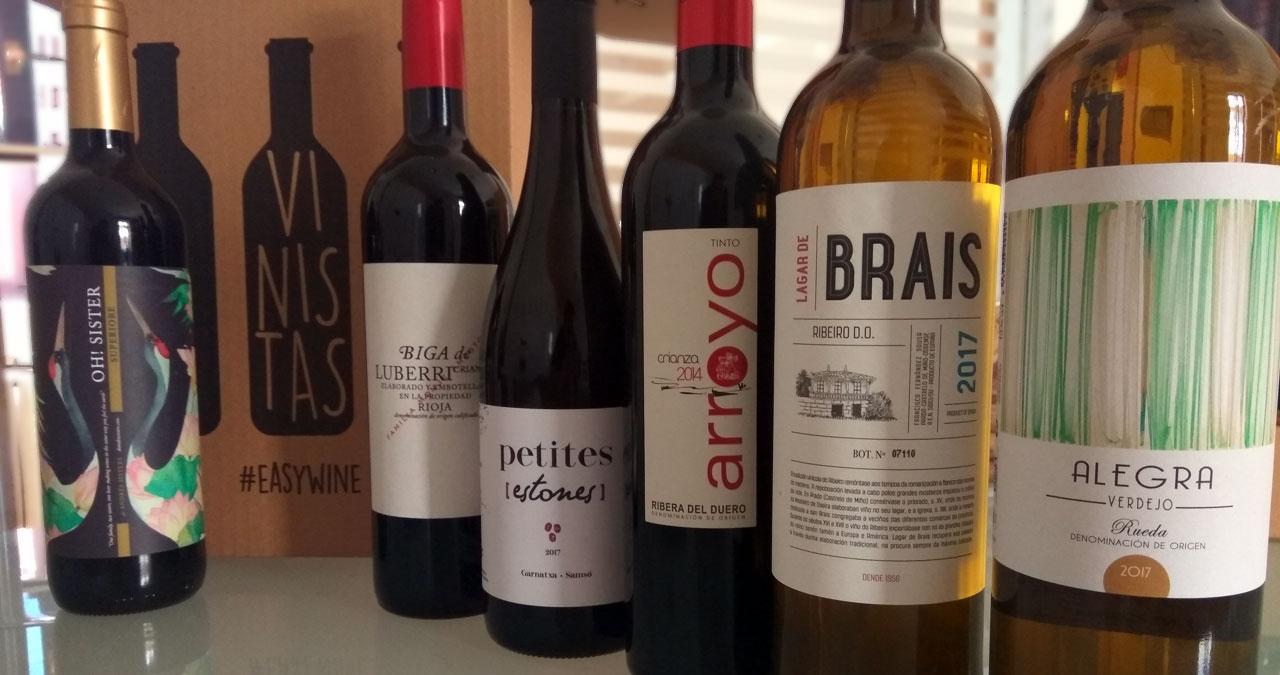 Pack de vinos en Vinistas