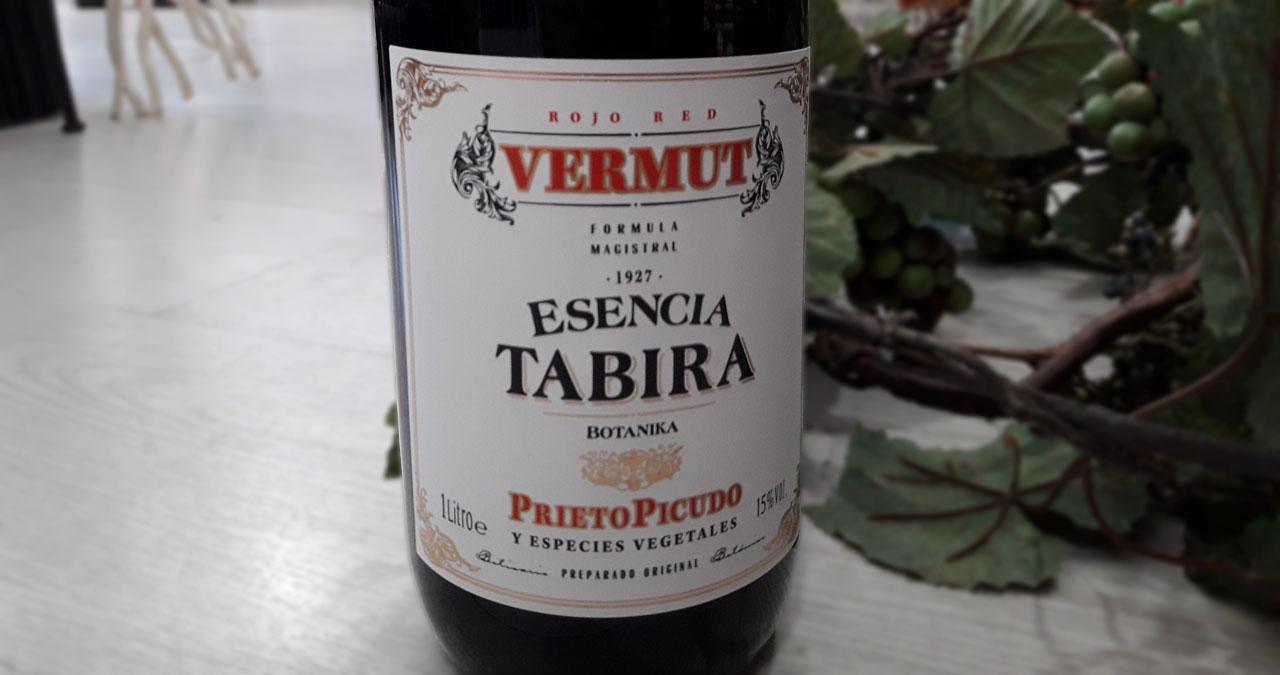 Vermut Esencia Tabira con Prieto picudo de Meóriga